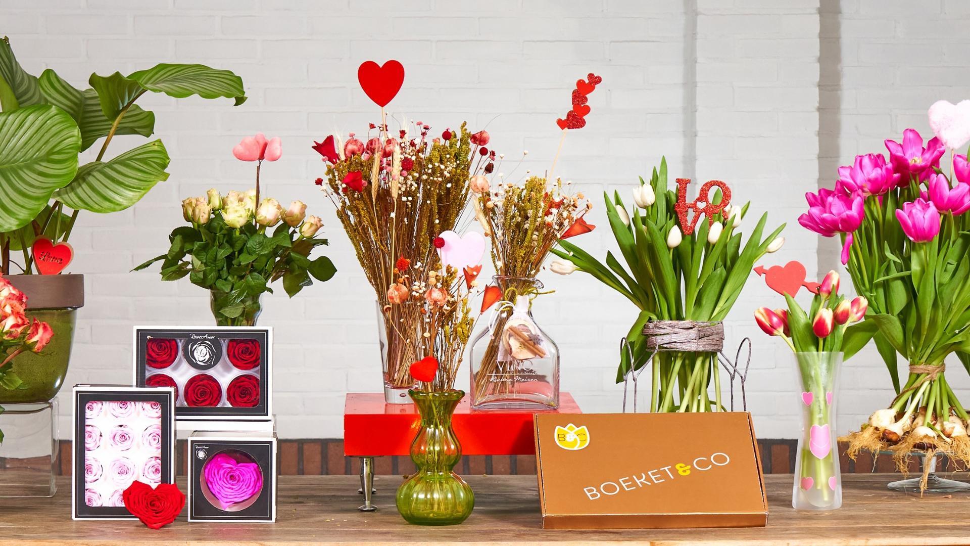Bloemen bezorgen webshop